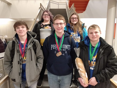 Science Olympiad participants
