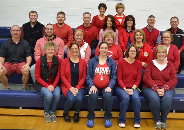 American Heart Red Day