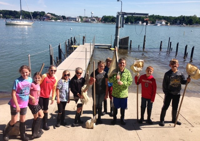 6th graders at Put-In-Bay